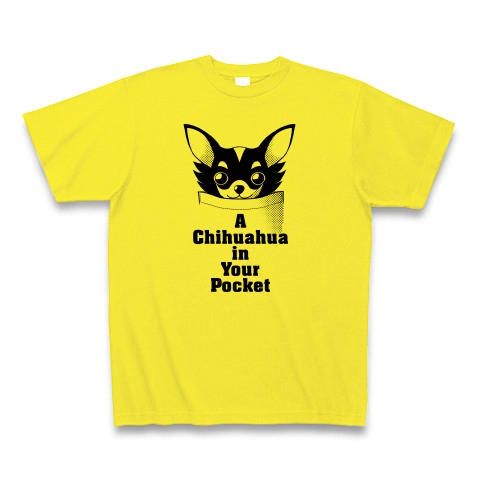 Chihuahua(チワワ) in Your Pocket Tシャツ(デイジー)