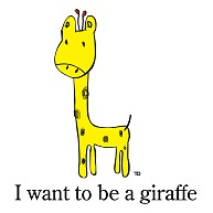 Giraffe Design By EV 長袖Tシャツ Pure Color Print(ライトピンク)